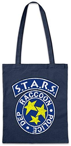 Urban Backwoods Vintage S.T.A.R.S. Logo Hipster Bag Beutel Stofftasche Einkaufstasche