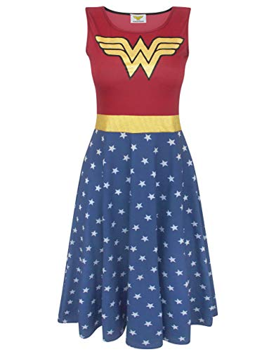 Wonder Woman Women's Cosplay Costume Dress Ladies Fancy Dress Party New Hampshire
