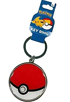Jazwares FAB Pokemon Keychain Pokeball Backpack Dangler