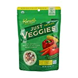 Karen's Naturals Organic Just Veggies, 4 Ounce Pouch (Packaging May Vary) Organic All Natu...
