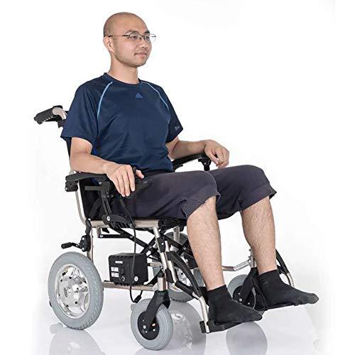 DEAN - Rueda eléctrica Plegable, Motor sin escobillas, Peso Ligero, Apta para Ancianos con discapacidad