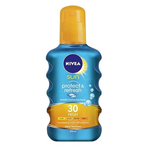 Nivea Sun Protect & Refresh Invisible Cooling Sun Spray SPF 30 High 200ml