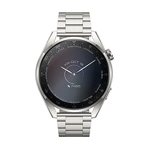 Huawei Watch 3 Pro Classic - braunes Leder