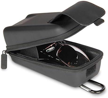 USA GEAR Hard Shell Glasses Case Sunglasses Case Safety Glasses Case Compatible with Sunglasses product image