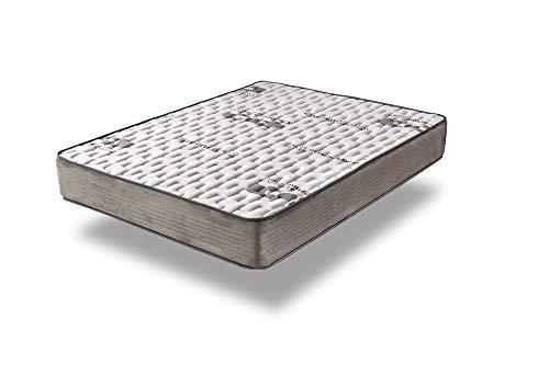 Home Heavenly- Colchón VISCO CARBONO colchón viscoelastico, con tecnología al carbono activo transpirable reversible, hipoalergénico, firmeza alta, 27 cm de H aprox, cama de matrimonio (150_x_190_cm)