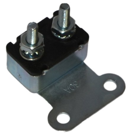 Inline Tube (I-6-2 30 Amp Firewall Accessory Circuit Breaker Compatible with 1968-72 Oldsmobile All Models That are Convertible, with Power Windows and Seats