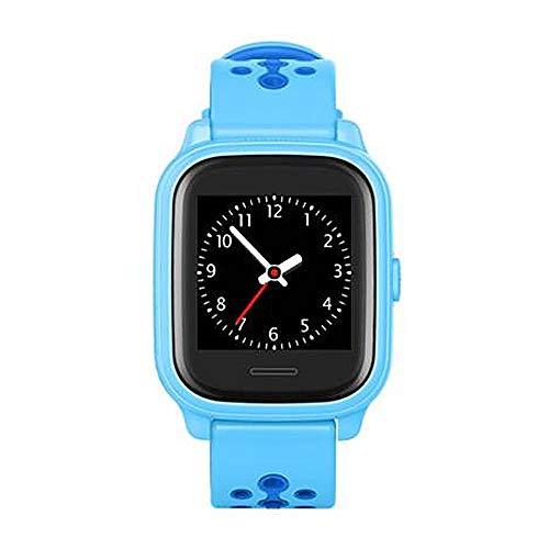 Anio 4 Touch BLAU GPS Kinder Smartwatch Smartphone Watch - Schutz für Ihr Kind - SOS Notruf + Telefonfunktion - Keine MONITORFUNKTION - GPS Kinder Uhr (Blau)