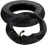 HUAQINEI Juego de neumáticos y Tubo Interior de 10'x 2,125' Rueda de Scooter de Caucho Natural para Piezas de Scooter eléctrico de autoequilibrio Hoverboard