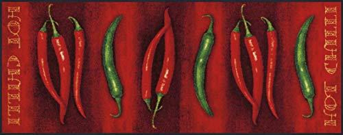 Wash + Dry 051909 Fußmatta Hot Chili 75 x 190 cm