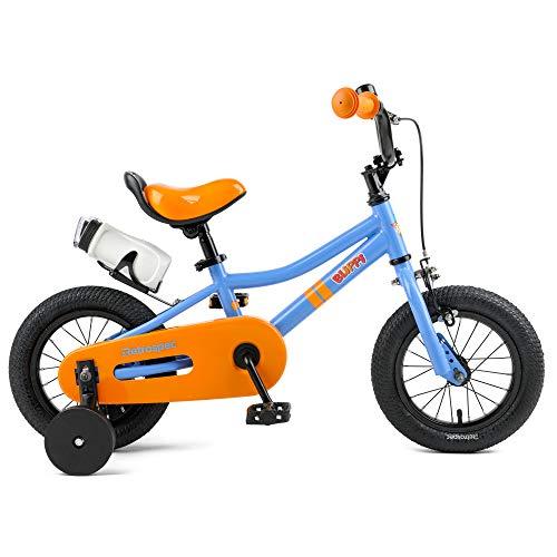 Retrospec Koda Kids Bike Boys and Girls Bicycle with Training Wheels, 12', Blippi