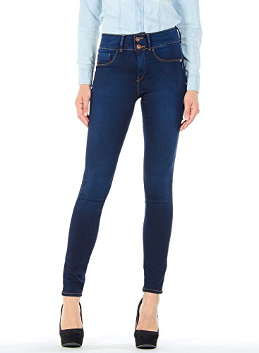 Tiffosi One_Size_Double_Up_1 Jeans, Blu, Taglia Unica Donna