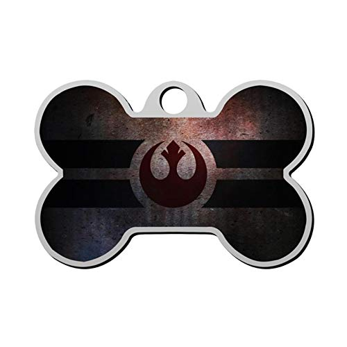 Star Wars Pet Tag - Bone Shaped Dog Tag & Cat Tags Pet ID Tag Personalized Custom Your Pet's Name & Number 3D Printing