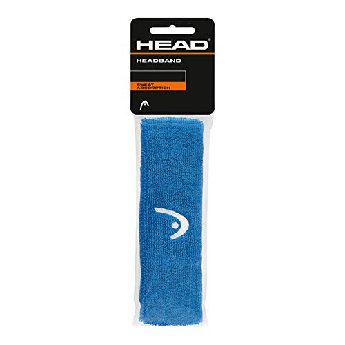 Head Fascia per la Testa, Tennis Accessori Unisex Adulto, Blue, One Size
