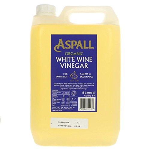 Aspall - Aceto di vino bianco organico, 5 l