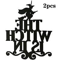 不織布の装飾品ハロウィーンのドアハンギングと壁の装飾パーティーの装飾ホームパーティー用品の装飾(2個)-2pcs
