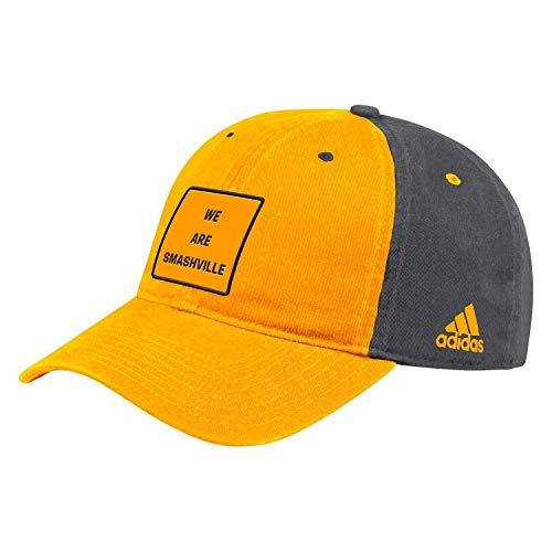 adidas Nashville Predators 2019/20 Slogan Cotton Adjustable NHL Cap, One Size