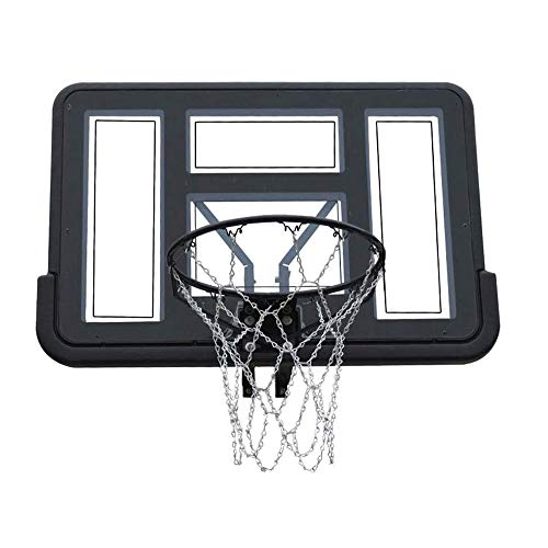 CHENXU Wall Mounted Basketball Hoop Set Outdoor Training Basketball Hoop, Home Wall Transparent Backboard, Adult Shooting Basketball Hoop, Street Wall Basketball Hoop