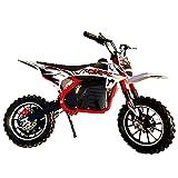 GGPUS Dirt Bike Adult & Teen Ride auf dem Motor mit hohem Drehmoment mit einem elektrischen Motocross-Roller-Schmutz-Fahrrad, Geschwindigkeiten von bis zu 18,6 Meilen pro Stunde, Scheibenbremsen