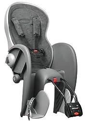 Polisport children's bicycle seat, gray, 61006200