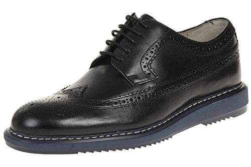 Clarks, Kenley Limit, Lacci Scarpa Tipo Inglese, Pelle, Nero - 44