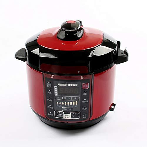 Elektrische snelkookpan, 5L intelligent rijstkoker pan snelheid 7, 12 menu 24 uur van tevoren, non-stick dubbele pot, 220v, 2-5 personen fornuis