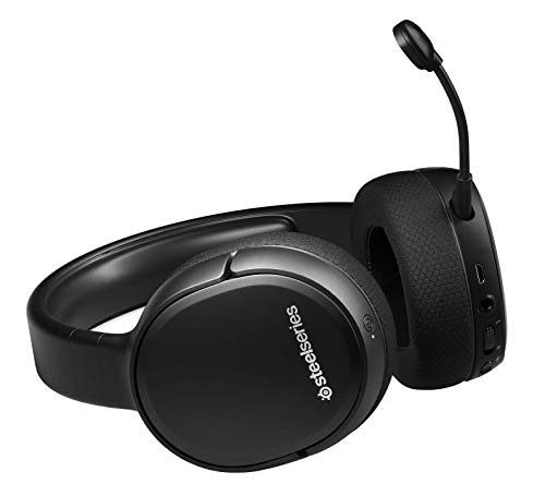 SteelSeries Arctis 1 Wireless – Wireless Gaming Headset – USB-C Wireless – Abnehmbares ClearCast Mikrofon – für PS5, PS4, PC, Nintendo Switch & Lite, Android