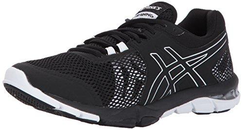 ASICS Women's Gel-Craze TR 4 Cross Trainer, Black/Black/White, 6...