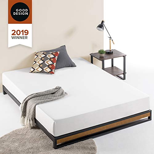 Zinus Suzanne 6 Inch Platform Bed without Headboard, Full