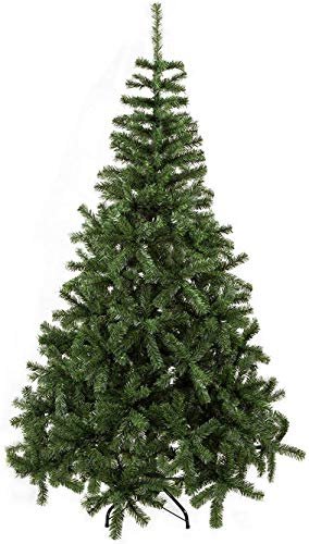 Bravich 120 CM / 4 Ft Green Christmas Tree 300 Tips Thick Bushy Tinsel PVC Artificial Tree with Metal Stand Indoor Xmas Decoration Easy Fold Branches