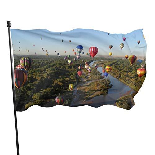 N/A USA Guard Vlag Banner Welkom Vlaggen Bloed Ballon Festivals In De Verenigde Staten Stad Yard voor Vakanties Patio Verjaardag Decoratie 3x5 Ft