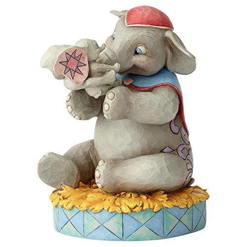 Disney El Amor Incondicional de Una Madre - Dumbo Figurina, Resina, Multicolor, 12.50x16.50x19 cm