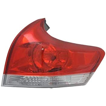 NEW OUTER LEFT TAIL LIGHT FITS TOYOTA VENZA 2013-2014 TO2800190 81560-0T020