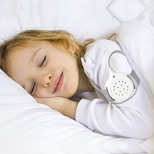 DPLCC Bedwetting Alarm for Boys and Girls, USB Rechargeable with Sounds and Vibration Bed-wetting Sensor Potty Alarm, Bed-wetting Sensor for Kids