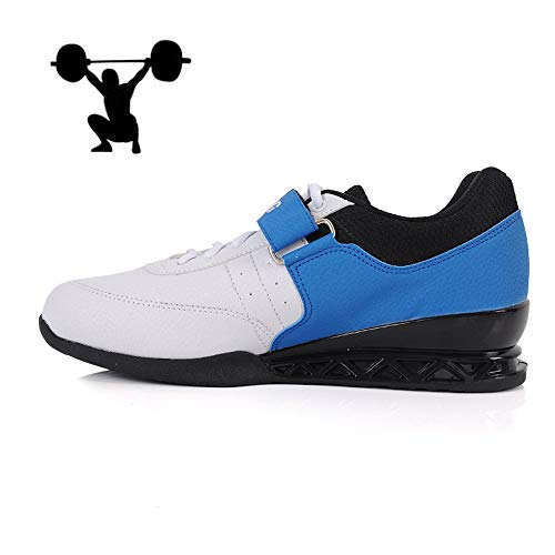 AIALTS Mannen En Vrouwen Squat Gewichtheffen Schoenen, Professionele Barbell Squat Schoenen Harde Trek Indoor Fitness Gewichtheffen Schoenen