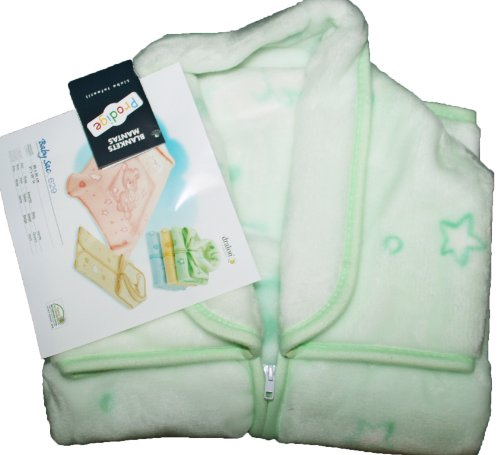 Couverture Pressionnee Bebe -Baby Sac Prodige 629 - Theme Oursons Good Night VERT