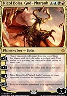 Nicol Bolas, God-Pharaoh - Foil - Hour of Devastation