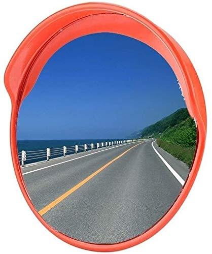 Wide-angle lens Al aire libre espejo de seguridad de tráfico del carril de conducción de gran angular reflector anti-colisión de la...