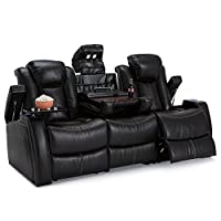 Seatcraft Omega Leather Recliner