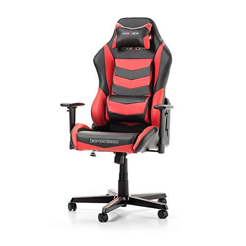 DXRacer Drifting D166 Sessel schwarz/rot