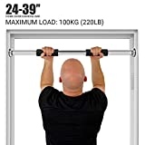 Your's Bath Pull Up Bar Door Frame Professional Chin-up Bars Doorway No Screws Installation, Heavy Duty Core Exercise Home Gym Fitness