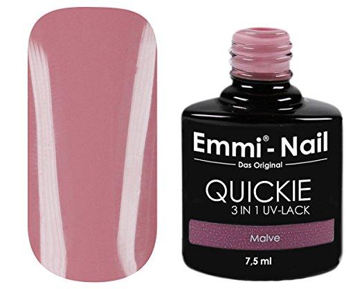 EMMI–UV de esmalte de uñas en sutiles Nude, sin Schwitz capa, no requiere bajo y überlack, muy duradera, 7.5ml