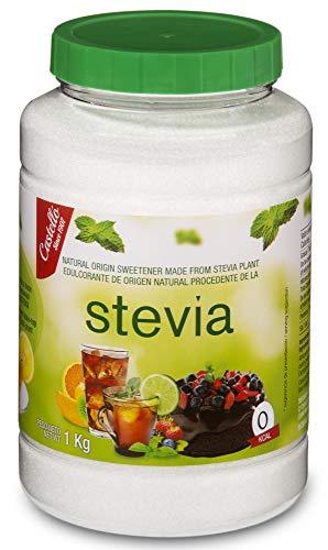Castelló Since 1907 Dolcificante Stevia + Eritritolo 1:2 - Barattolo da 1 kg