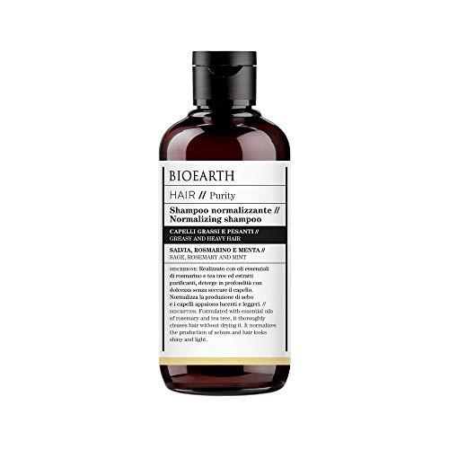 Bioearth Hair 2.0 Shampoo Normalizzante per capelli grassi e pesanti - 250 ml