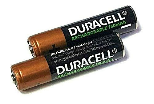 Duracell AAA 750 mAh NiMH Wiederaufladbare Akkus für Siemens Gigaset Telefone
