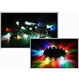 Tapas de válvula LED, luces de llanta, luz de radios para llantas de bicicleta Tapas de válvula de bicicleta automática Luces de rueda de llanta Luz de tapa de válvula de llanta para bicicleta