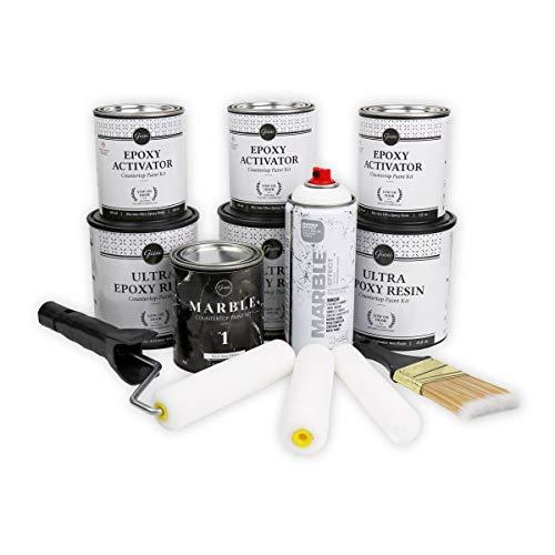 Giani Belgotta Black Marble Countertop Paint Kit