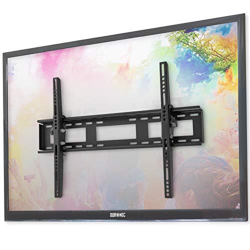 Duronic TVB123M Soporte TV de Pared Inclinable Ultra Delgado para Pantalla 23' a 55' Pulgadas, LED, LCD, Plasma, Monitor de hasta 65 kg de Peso - Montaje SOLO Compatible con VESA 200 400 y 200 x 400