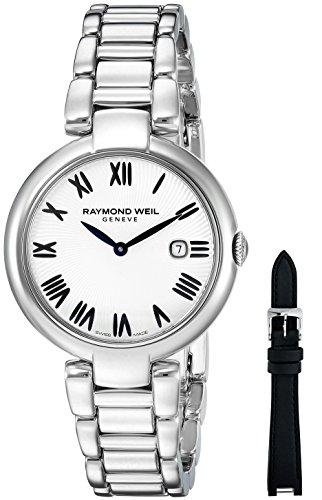 Raymond Weil Damen Analog Quarz Uhr mit Edelstahl Armband 1600-ST-00659