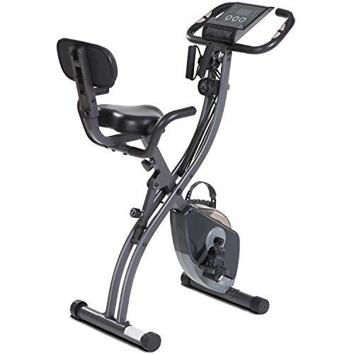 MaxKare Exercise Bike Stationary Bike Folding Recumbent...
