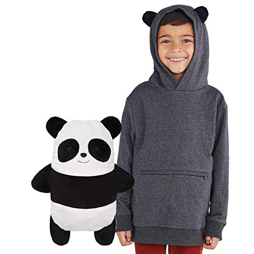 Cubcoats Papo The Panda 2-in-1 Transforming Pullover Hoodie & Soft Plushie